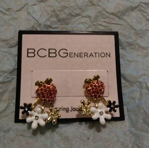 BCBGENERATION strawberry earrings
